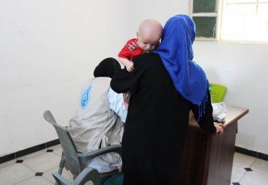 إفتتاح مركز جمعية آفاق جديدة للاطفال المصابين بمرض الثلاسيميا في الرقة