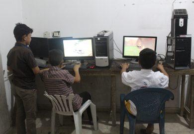 عودة محلات العاب الشباب بعد الخلاص من داعش
