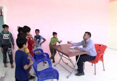 مركز صناع المستقبل يقوم باعادة تاهيل عدة مدارس