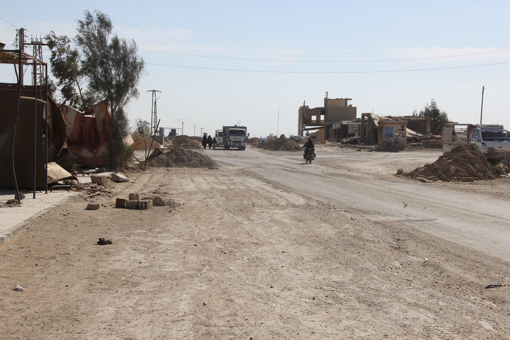 حملة نظافة واسعة في ريف دير الزور