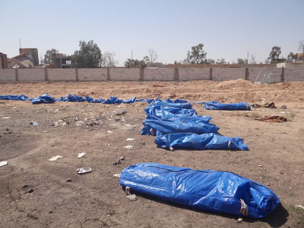 انتشال 16 جثة من حديقة حيوانات الرقة