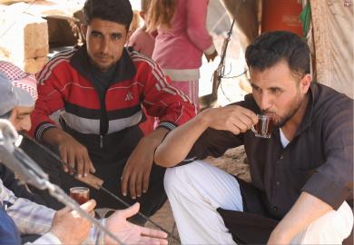 مقابلات مع شباب يتقدمون للشهادتين الإعدادية والثانوية بالرقة
