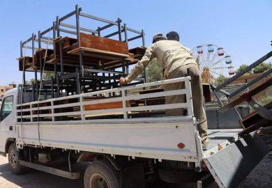 آخر تطورات إعادة الإعمار وترمیم المدارس في الرقة