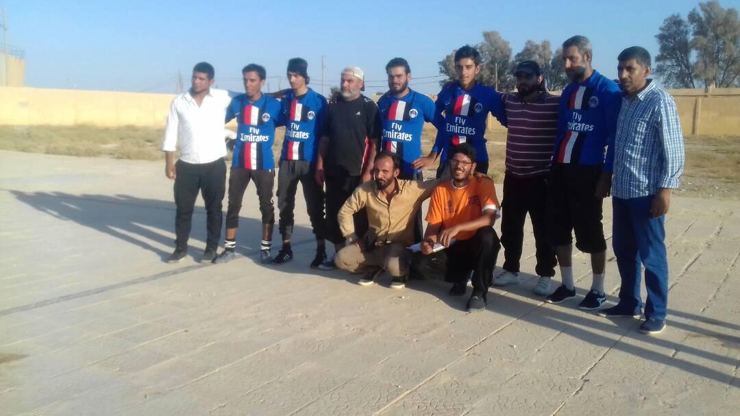 دوري لكرة الطائرة في مدينة الرقة