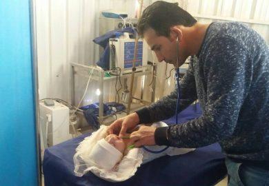 افتتاح قسم المعالجة الفيزيائية والنفسية في مشفى الطبقة