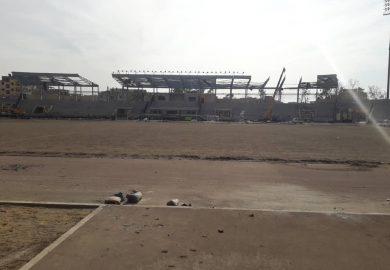 إعادة تأهيل الملعب البلدي في الرقة