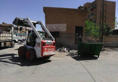 مشاريع مركز امال للانشطة المدنية في الكسرة بريف دير الزور