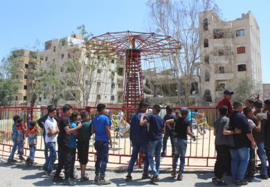 افتتاح اماكن ترفيهية واعادة تأهيل الكراج وسد المنصورة والمتحف الأثري بالرقة بعد التحرير