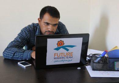 منظمة صناع المستقبل تقوم بحل مشاكل الفلاحين في الرقة