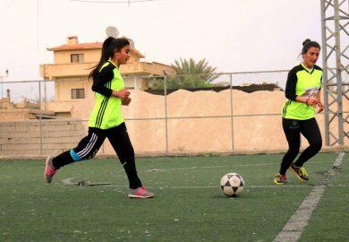 دورات تدریبیة للنساء في مجال الرياضة في الرقة