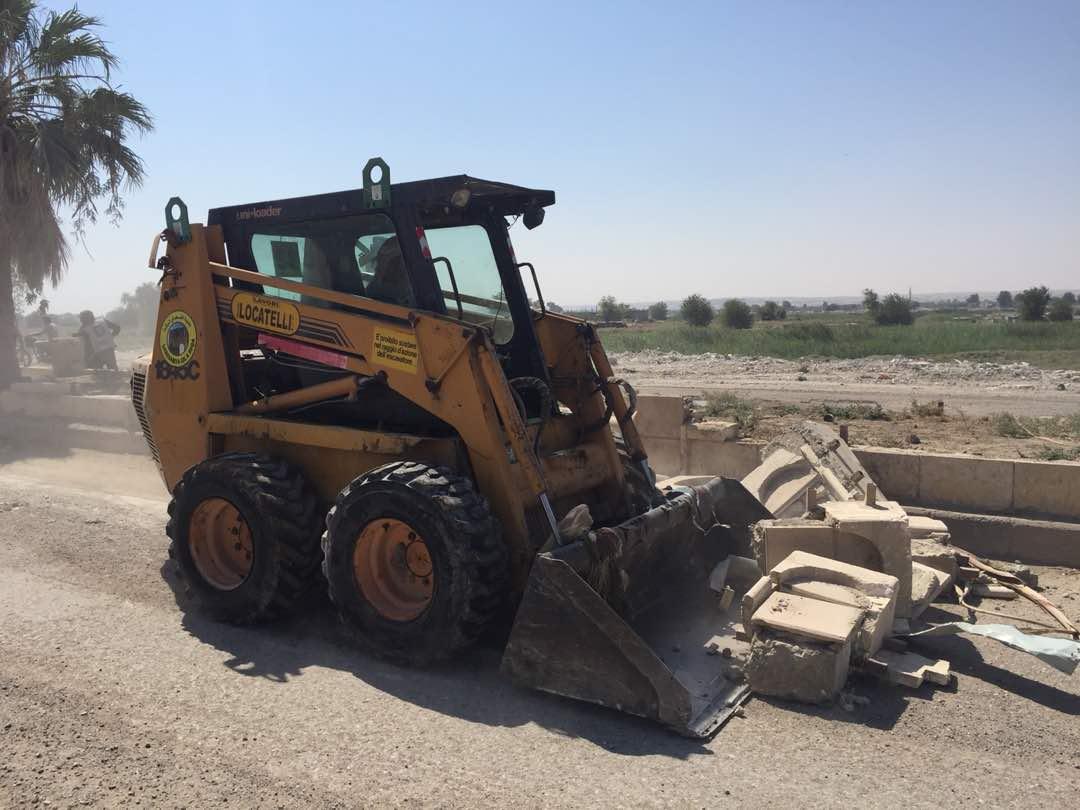 بلدية الرقة تعمل على الانتهاء من إزالة الأنقاض في غضون أسابيع