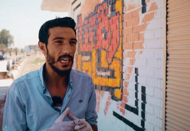 الغرافيتي في مدن الشمال السوري