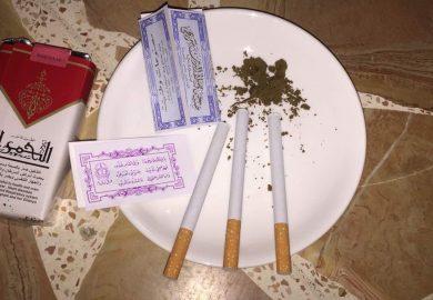 انتشار المخدرات بين الشباب