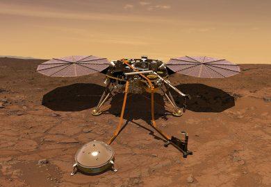 هبوط ناجح على سطح المريخ