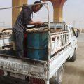 توزيع المازوت وجرات الغاز على الريف الشمالي في الرقة
