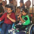 صناع المستقبل يقومون بدمج الأطفال ذوي الإحتياجات الخاصة في الرقة