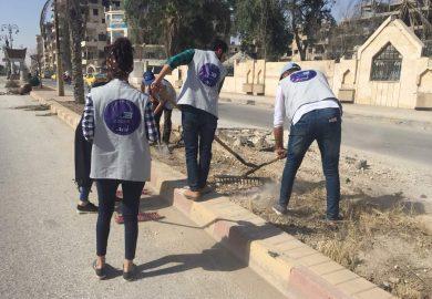 مشروع جديد لمنظمة أوزون بخصوص عمالة الأطفال في الرقة