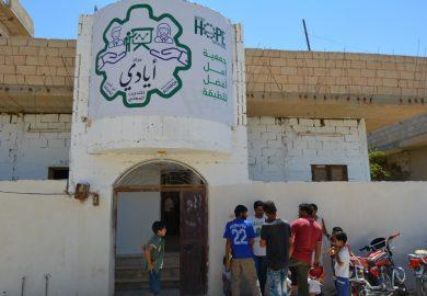 مركز أيادي التابع لمنظمة أمل أفضل للطبقة يؤمن دورات مهنية للشباب