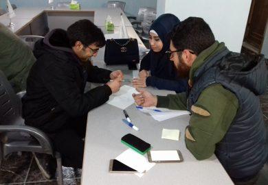التجربة الشخصية لعبود الحسين بسوق العمل وكيف حصل على عمل بمنظمة توتول في الرقة