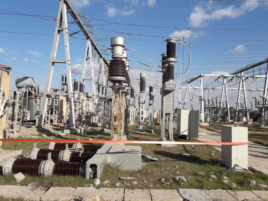 لجنة الطاقة تبدأ تأهيل محطة كهرباء رقة 3