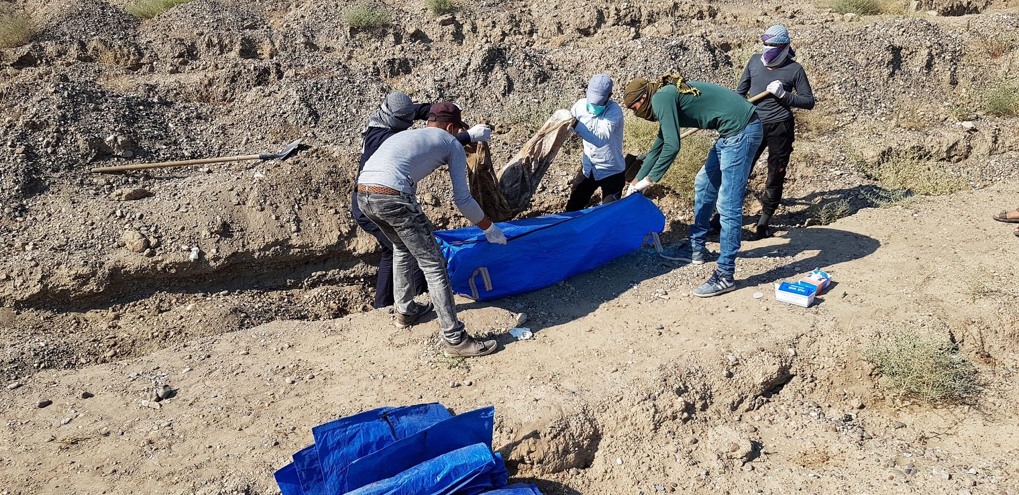 العثور على مقبرة جماعية جديدة في الرقة