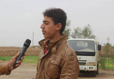 أخبار الفرات- تجربة الشاب أحمد من الرقة للحصول على عمل اعتمادا على نفسه في الرقة