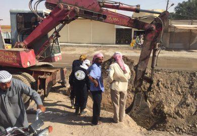 طبيعة عمل وحدة مياه مدينة الرقة مع علي الشريف