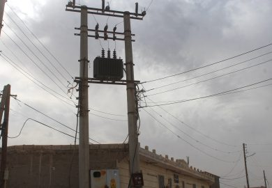 إعادة تأهيل محطات كهربائية مع مراسلنا عبد في الرقة