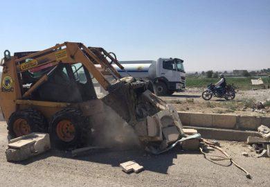 بلدية الشعب تساعد أصحاب المنازل المدمرة بإعادة ترميمها في الرقة