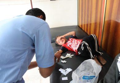 أسباب تأخر إفتتاح المشفى الوطني في الرقة مع مراسلنا عبد في الرقة