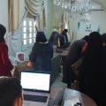 تجربة شروق الحسن في مجال العمل التطوعي في الرقة