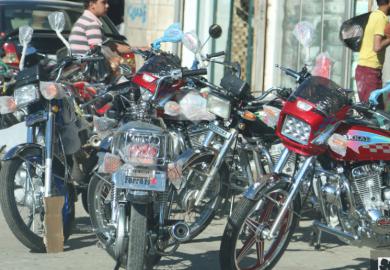 قانون منع الدرجات النارية في الرقة مع مراسلنا عبد في الرقة