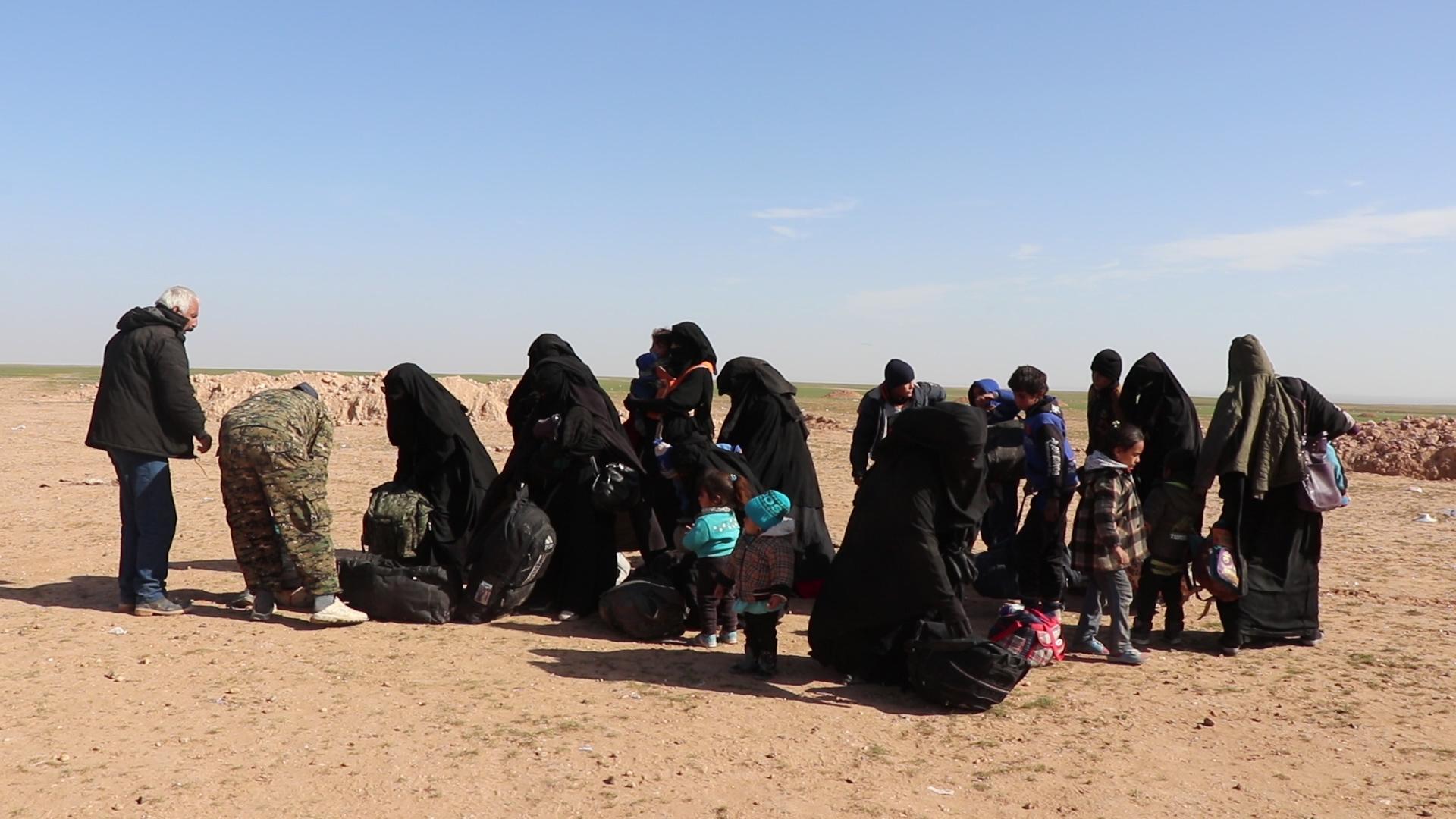 استمرار الحملة ضد عصابات داعش في ريف هجين