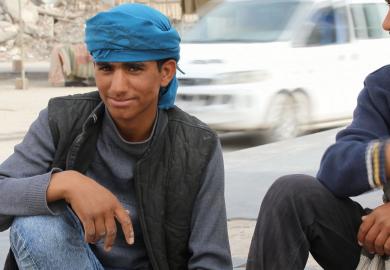 مقابلة مع عيسى الإداري في مكتب ذوي الإحتياجات الخاصة في الرقة