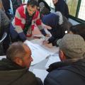 حصول مجموعة من الشباب على فرص عمل متنوعة من خلال مسابقات عمل في الرقة