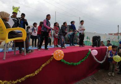 """إحتفالية الأطفال في مركز """"نور آفاق جديدة"""" ونشاطات اسبوعية"""