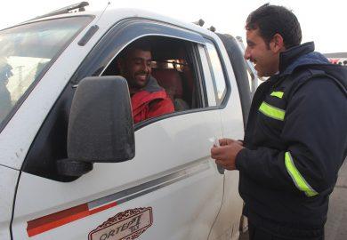 حال السائقين في الرقة ورد المجلس المدني