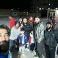 حارة معاوية ونشاطات الشباب التطوعية مع مراسلنا عبد في الرقة