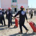 خدمات فريق الإستجابة الأولية مع مراسلنا عبد في الرقة