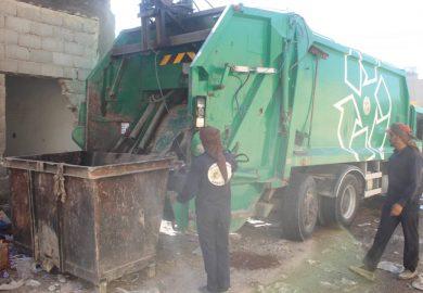 تسجيل مع عبد السلام علي اسماعيل، مدير دائرة النظافة في بلدية الشعب بالرقة والمشاريع الخدمية