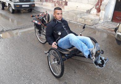 دراجة حسان المدفع كرد فعل على قرار منع الموتورات