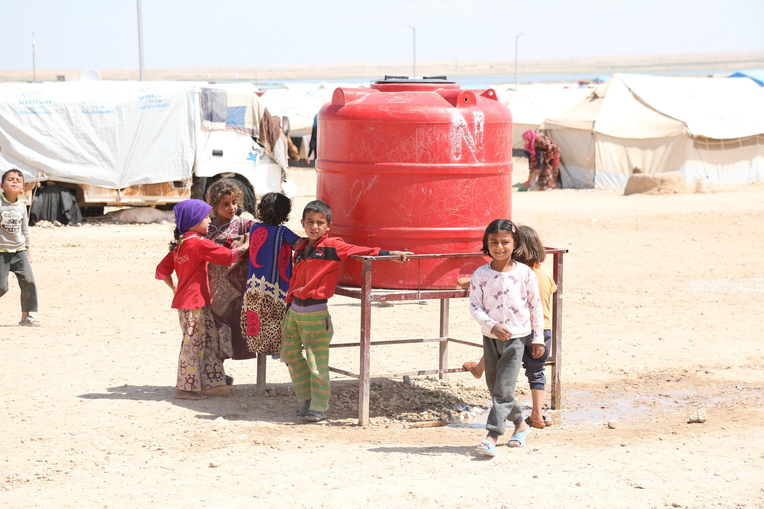 إدارة مخيم الهول تطالب الأمم المتحدة بتوفير مساعدات عاجلة