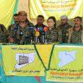 عبدالعزيز اليونس – مسؤول العلاقات العامة لقوات سوريا الديمقراطية .