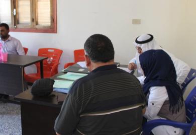مقابلة – آيات مسلم، الرئيسة المشتركة لمكتب الصناعة بمجلس الرقة المدني متحدثةً عن مشاريع المكتب