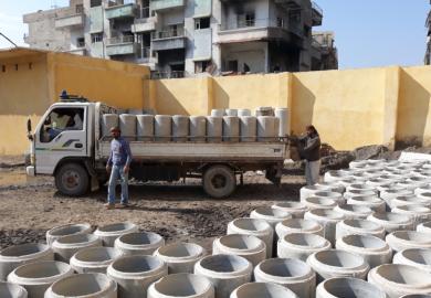 مشاريع المياه والصرف الصحي المستقبلية في الرقة