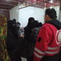 لقاء مع النقطة الطبية التابعة للهلال الأحمر الكردي في مخيم الهول