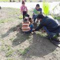 زرع أشجار جديدة من قبل بلدية الشعب في الطبقة!
