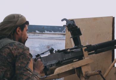 آراء الناس بهزيمة داعش عسكريا