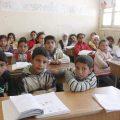 تلاميذ الفئة ب مع الموجهة التربوية إلهام حبش