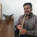 بورتريه – الفنان حمد الشبلاوي، عازف زمارة من الرقة